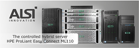 The Controlled  Hybrid Server - HPE ProLiantEasyConnect ML110