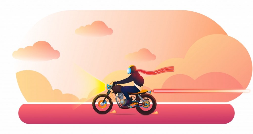 Fajar Yulist Triyono_Sunset-Riding.jpg